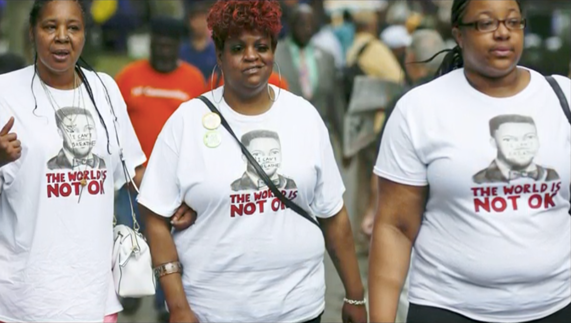 """""""Eric Garner's widow finds closure in fictional documentary six years after his death"""""""