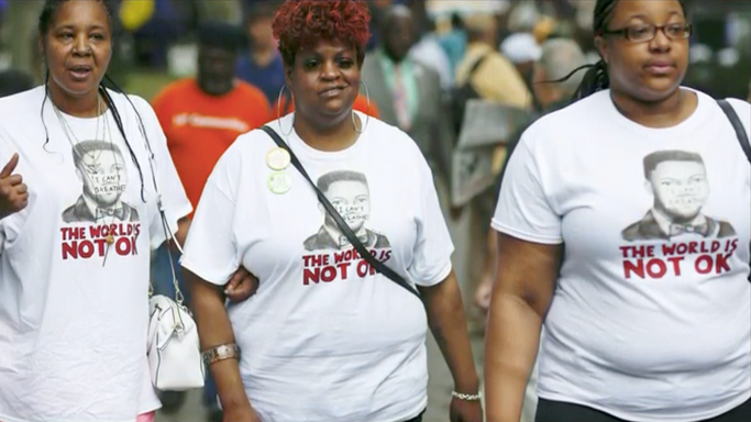 """Eric Garner's widow finds closure in fictional documentary six years after his death"""