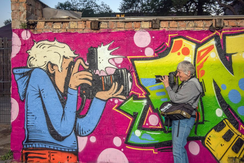Martha Cooper Talks To Zoey Grossman About The Art Of Photographing Street Art