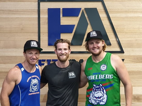 NORTH HEIDELBERG SPORTING CLUB AND FITACADEMY PARTNER TO TAKE THE NEXT STEP IN SEASON 2019