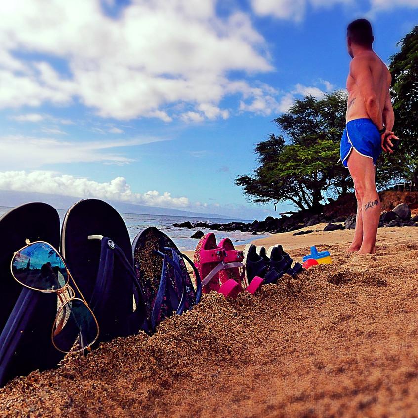Une petite plage où il n'y avait que nous