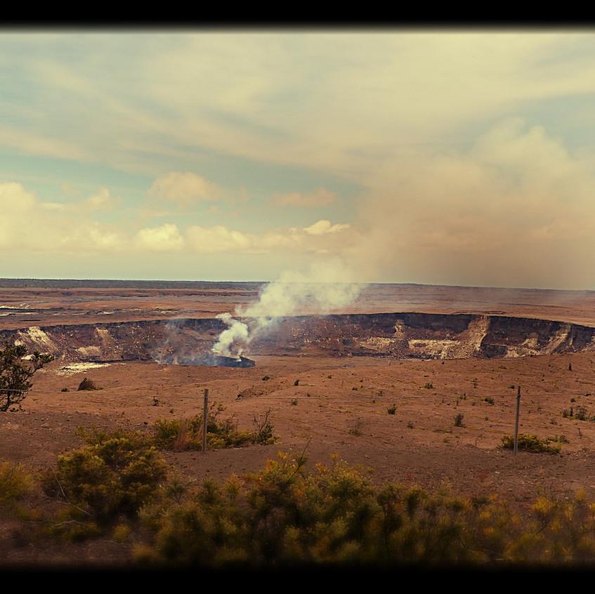 Le Kilauea de jour
