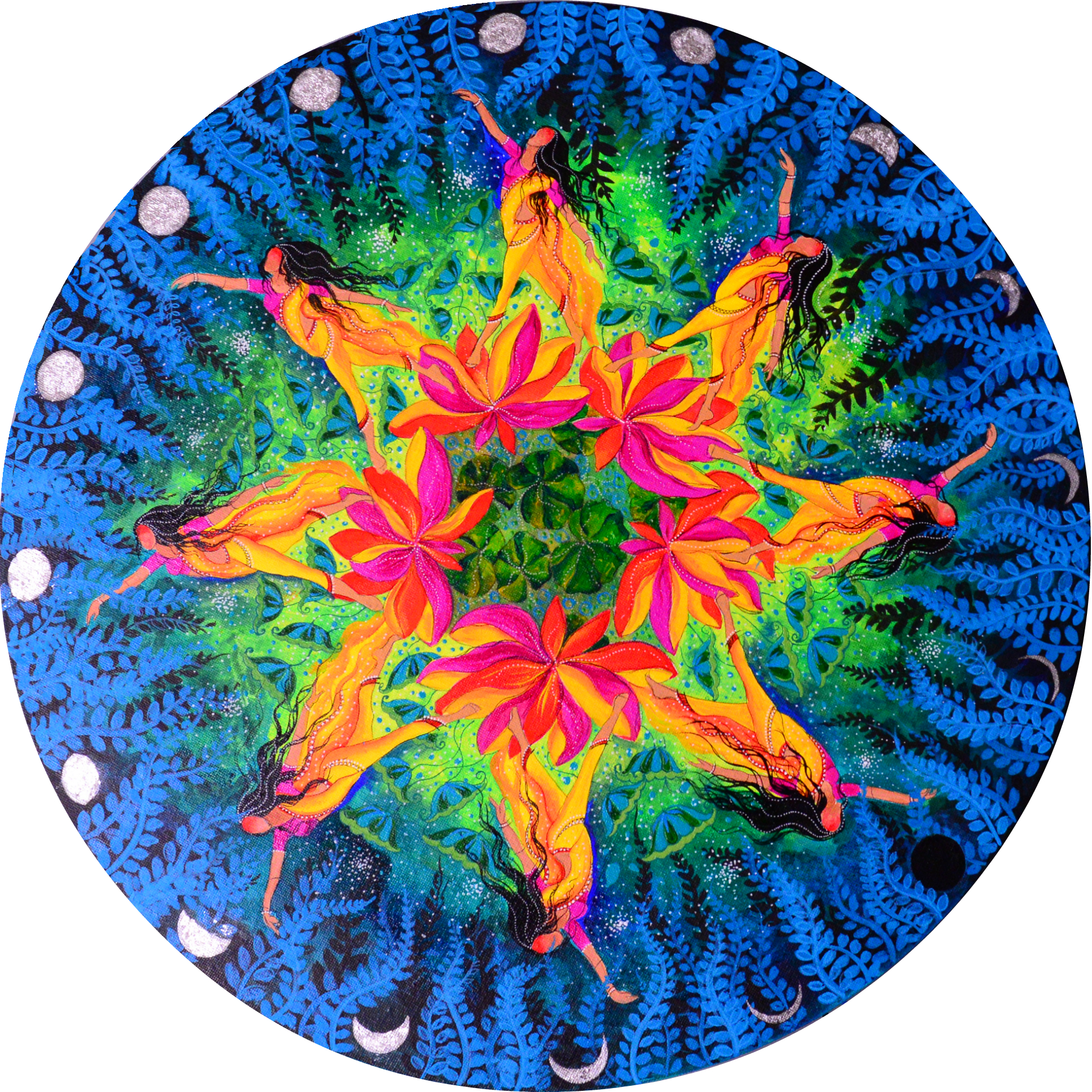 Ashta Yogini Mandala