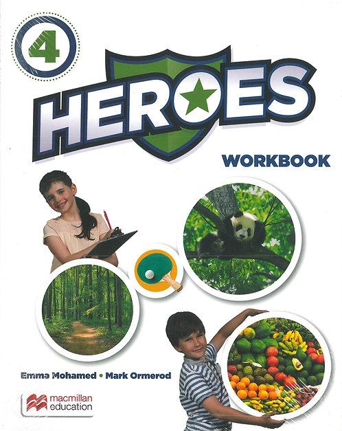 4t ANGLÈS HEROES 4 WORKBOOK