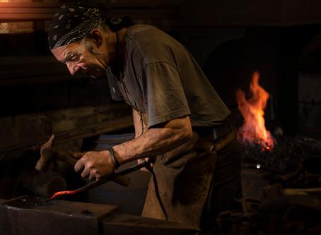 Lake District Blacksmith and Artisan Steve Hicks
