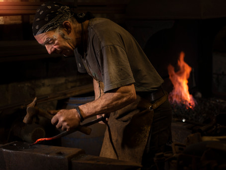 Lake District Blacksmith and Artisan Steve Hicks
