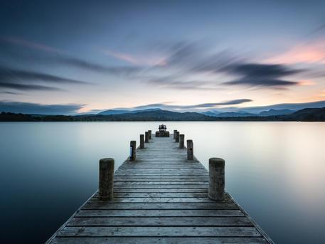 Lake District, Low Wood Jetty