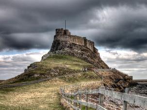 The Holy Island of Lindisfarne Northumberland Rain-Shadow Area