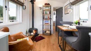 Shepherd's Hut Hideaways Northumberland