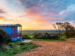 Luxurious Shepherd's Hut Hideaways In Northumberland