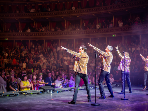 GREATEST HITS UK TOUR FOR OCT/NOV 2021 LOCAL CARLISLE CHOIRS TO JOIN COLLABRO ON TOUR