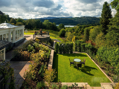 THE HENROCK SPRING TERRACE POP-UP AT LINTHWAITE HOUSE