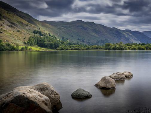 ULLSWATER THE SECOND LARGEST LAKE IN THE ENGLISH LAKE DISTRICT