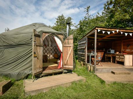Croglin Yurt
