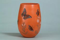 034-Monarchs in the Milkweed