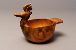 250- Bird effigy bowl