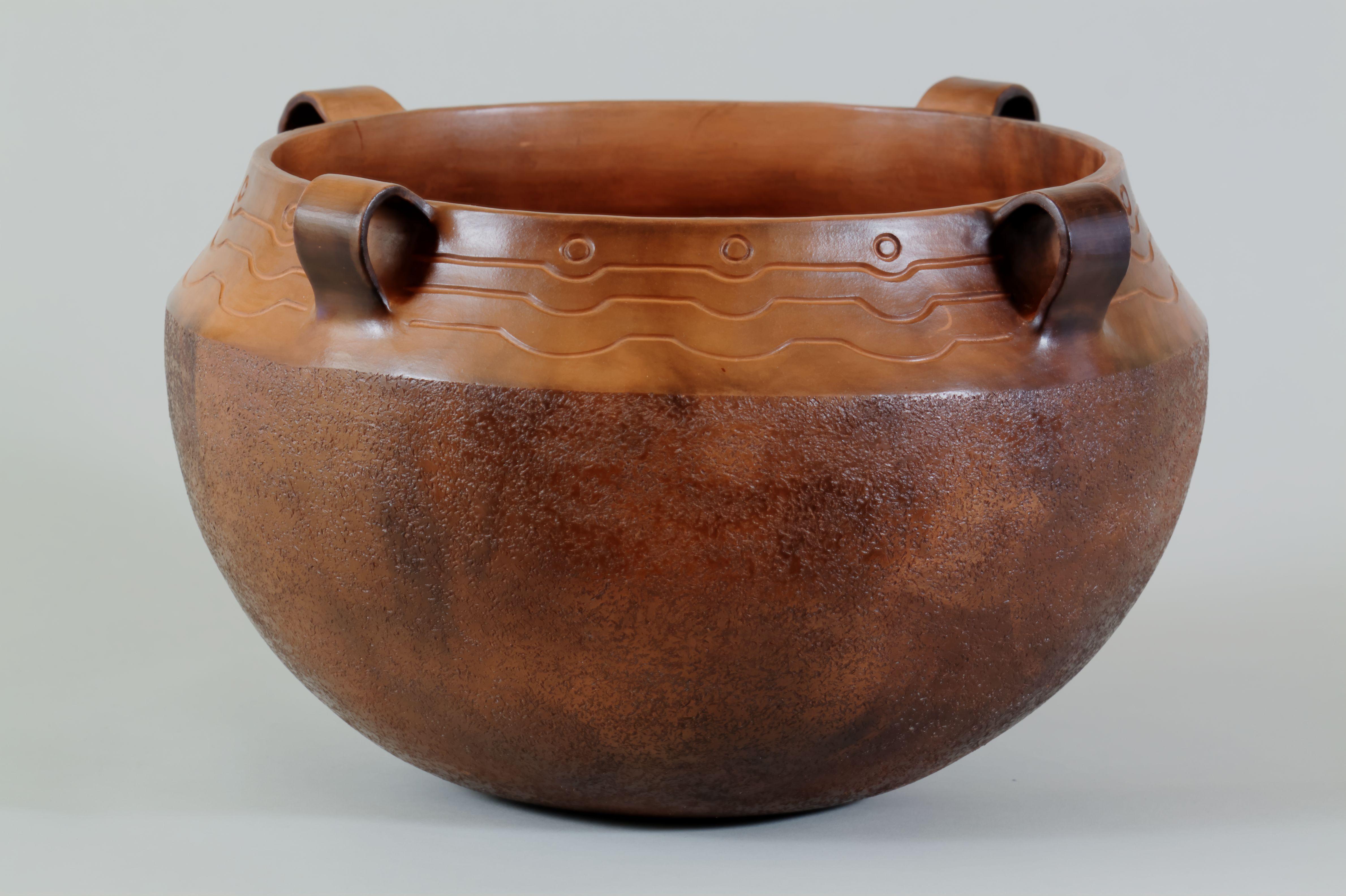 042-Four Handle Cook Pot