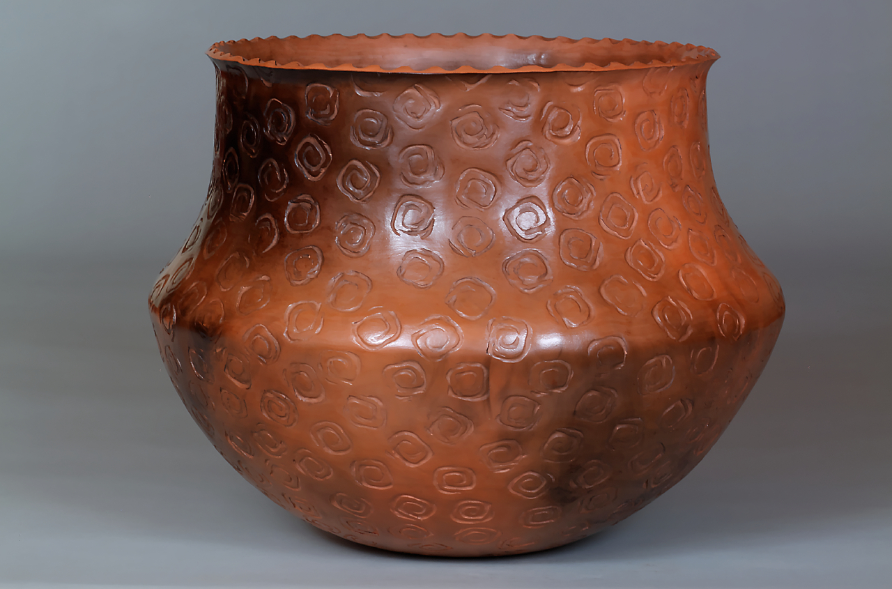 053_Stamped Pot