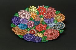 242-Garden Plate