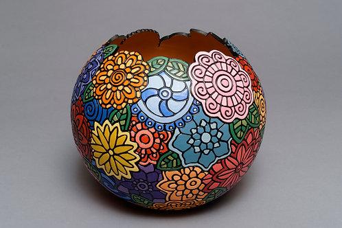 257- Grandmas Garden bowl