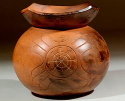 032-Collared Pot