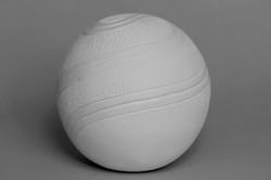 058-White Textured Swirl