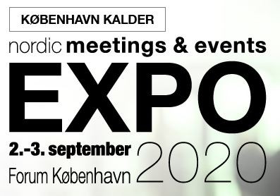 Kullen Tours udstiller på Nordic Meetings & Events Expo, København d. 2-3 september