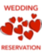 Wedding reservation
