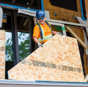Justin Thevarge - Lead Carpenter at the Powder Lodge Exterior Remediation 2019