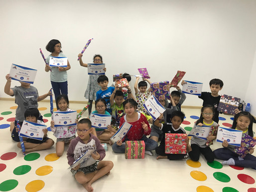 2018 Holiday Programme conducted in Bukit Batok & Jurong West