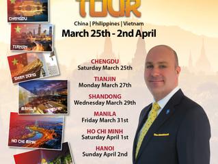 LEO Live Seminar Tour - Asia