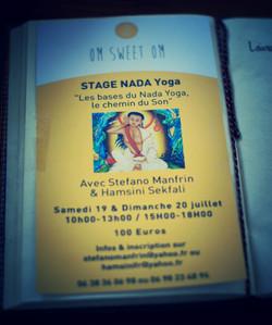 J'ai testé le Nada Yoga au studio Om