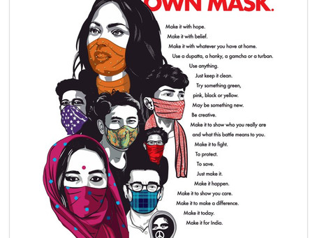 #MaskIndia - Vocal for Change