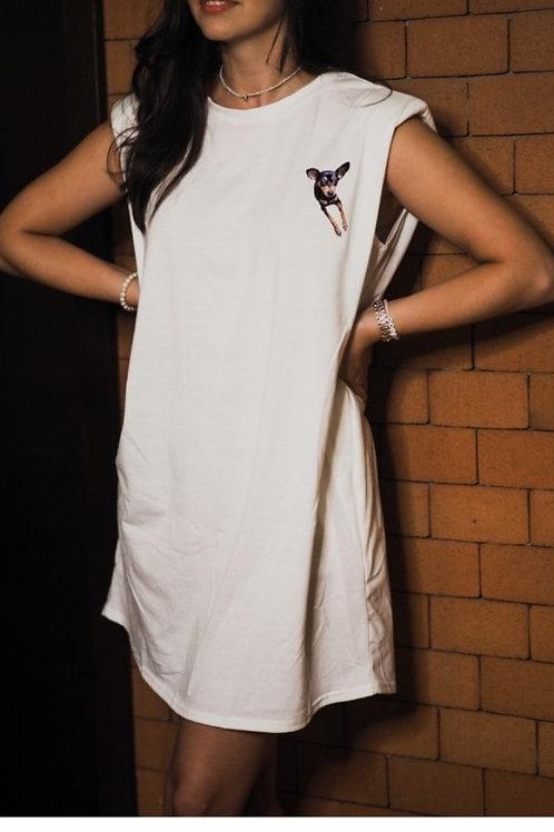 Shoulder Pads Personalized Dress