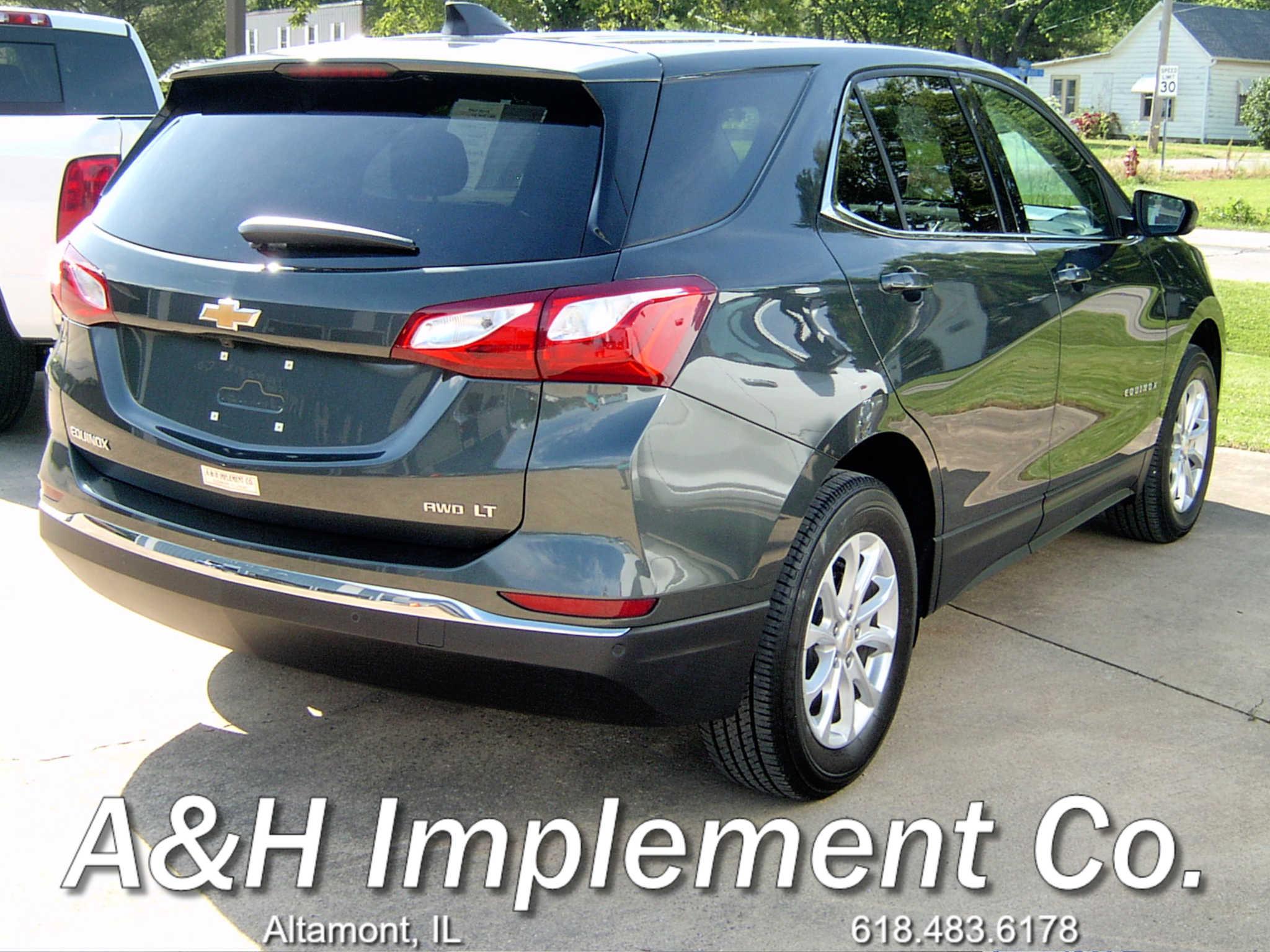 2020 Chevrolet Equinox Lt - Gray 2