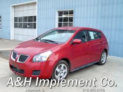 2009 Pontiac Vibe - red 1