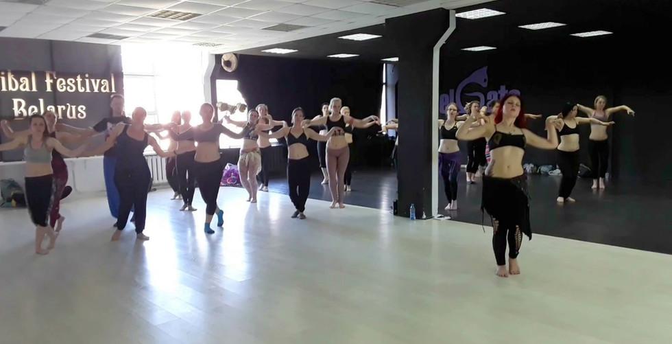 Мастер класс по танцу трайбл фьюжн от Этель. Минск