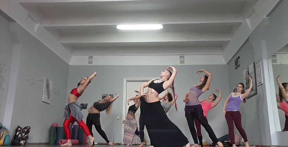 Мастер класс по танцу трайбл фьюжн от Этель. Киев