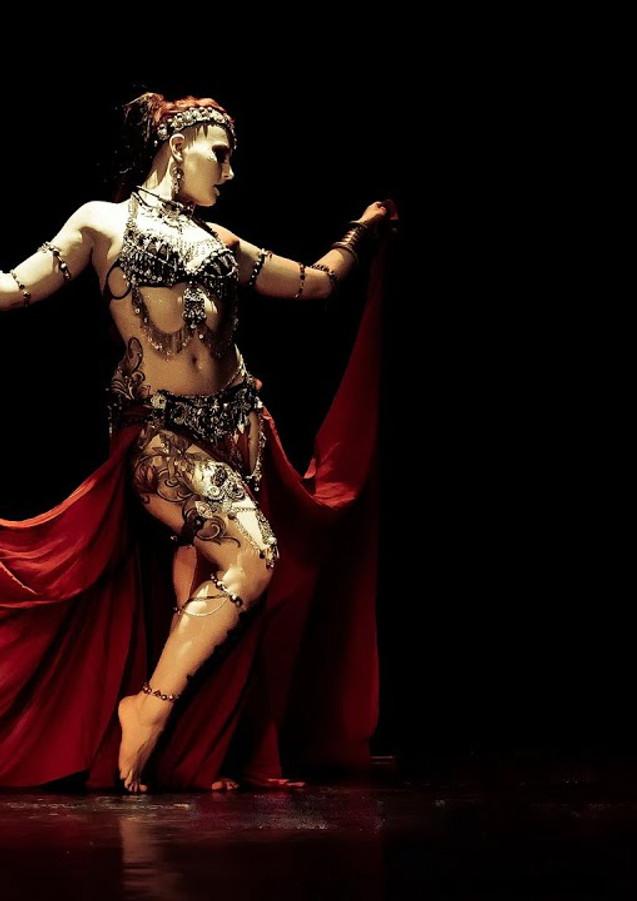 Ethel. Dark Tribal Fusion solo @ Tribal Talisman Festival