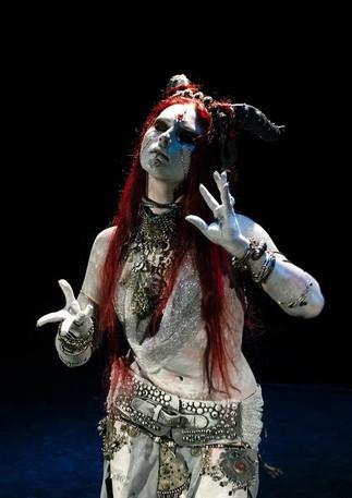"""Gargoyle"" - Ethel. Dark Tribal Fusion @ Fairytale Concert"