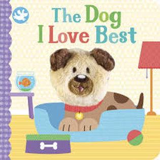 Finger Puppet Book - Dog I Love