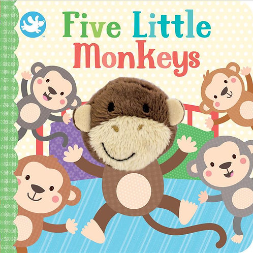 Finger Puppet Book - Five Little Monkeys