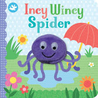 Finger Puppet Book - Incy Wincy