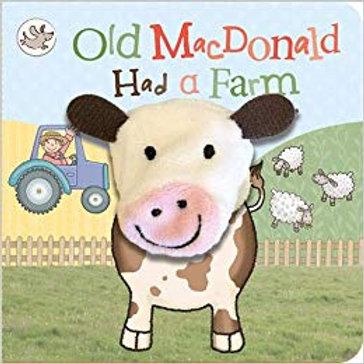 Finger Puppet Book - Old MacDonald