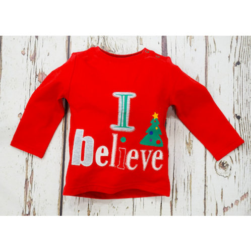 B and R 'I Believe' Long Sleeved T-Shirt