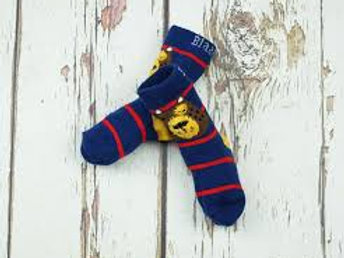 Blade and Rose Bear Socks