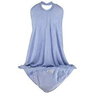 Hooded Apron Towel - Blue