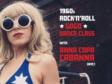 "ANNA COPA CABANNA'S ""EUROPE'S A GOGO"" TOUR!"