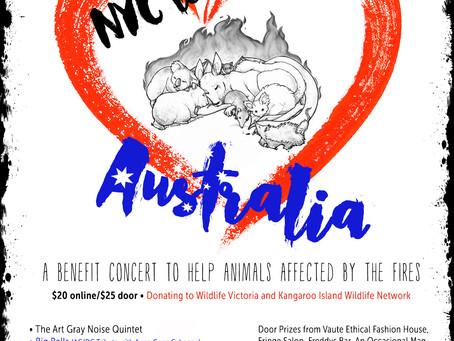 Benefit for the Australian Animals