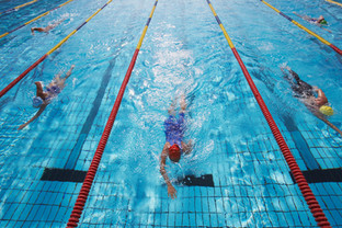 Swim with Cardiosport TP5+